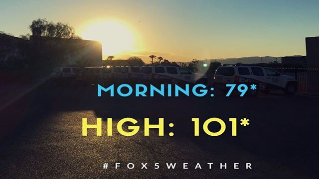 Sunshine, pleasant August weather continues in Las Vegas