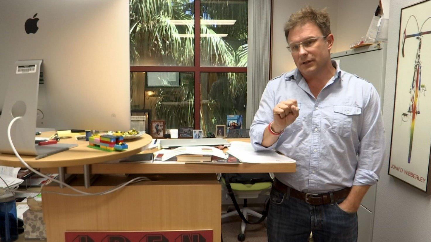UNLV professor Dr. Robert Futrell during an interview on Aug. 17, 2017. (Cyndi Lundeberg/FOX5)