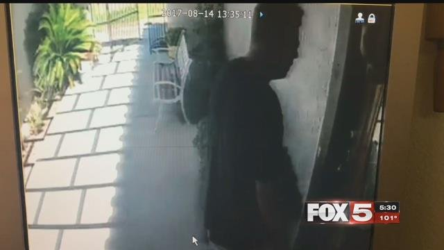 A family was burglarized during their grandfather's funeral.