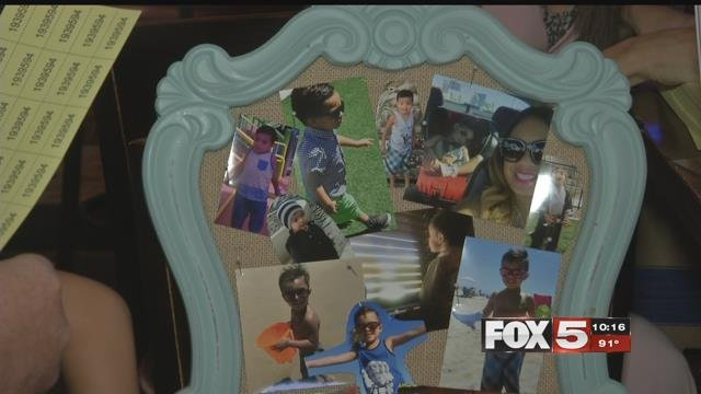 A photo collage of 4-year-old Nova (FOX5).