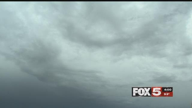 Clouds dimmed excitement for people hoping to see the 2017 solar eclipse. (FOX5)