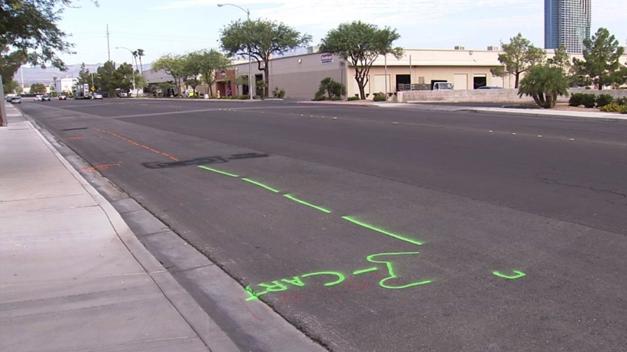 Metro is investigating a hit-and-run crash that left a man critically injured on Aug. 15, 2017. (Luis Marquez/FOX5)