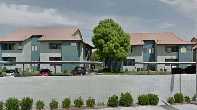 A 5-year-old boy shot himself in the hand at this northeast apartment complex (Google Maps).