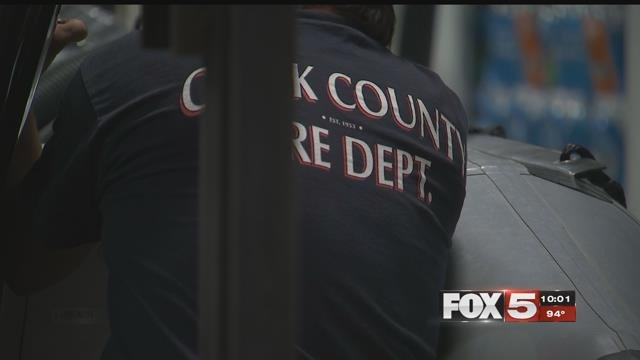 Nevada first-responders were dispatched to assist with relief efforts in Houston (FOX5).