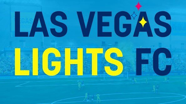 Fans picked the name Las Vegas Lights FC as the soccer team's name. (Instagram/LasVegasLightsFC)
