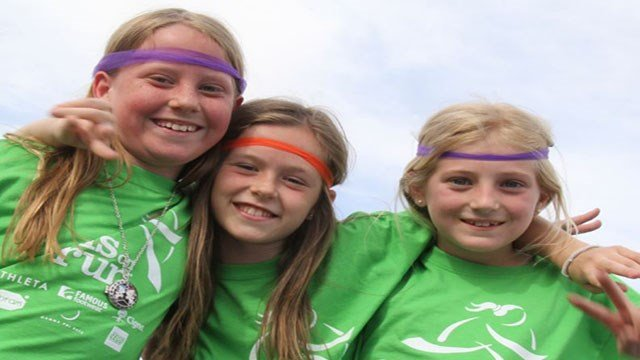 Girls On The Run participants shown here in this undated image. (Courtesy: Girls On The Run)
