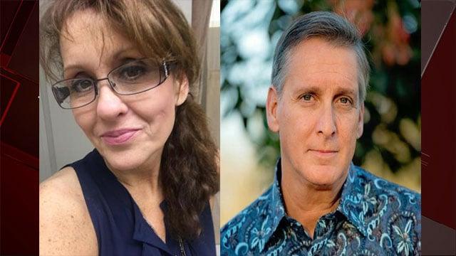 Kidnapping victim Virginia Paris, left, and suspect Joseph Hetzel are shown in these undated photos (Santa Barbara Police).