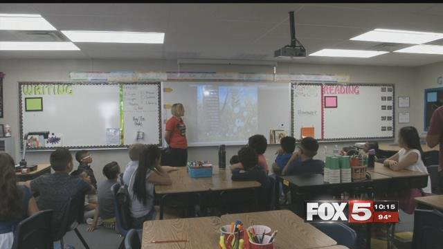A CCSD classroom is shown in this undated image (FILE / FOX5).