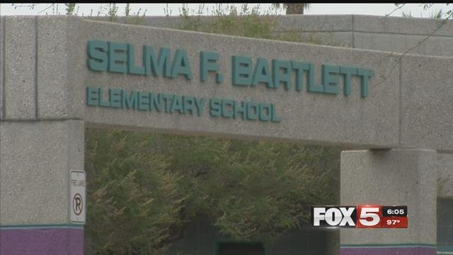 An exterior view of Henderson elementary school Selma R. Bartlett (FOX5).