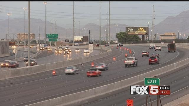 Commuters travel on the U.S. 95 on-ramp (FOX5).