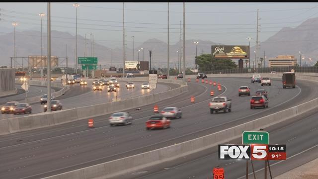 Commuters travel on the U.S. 95 on-ramp (FOX5).