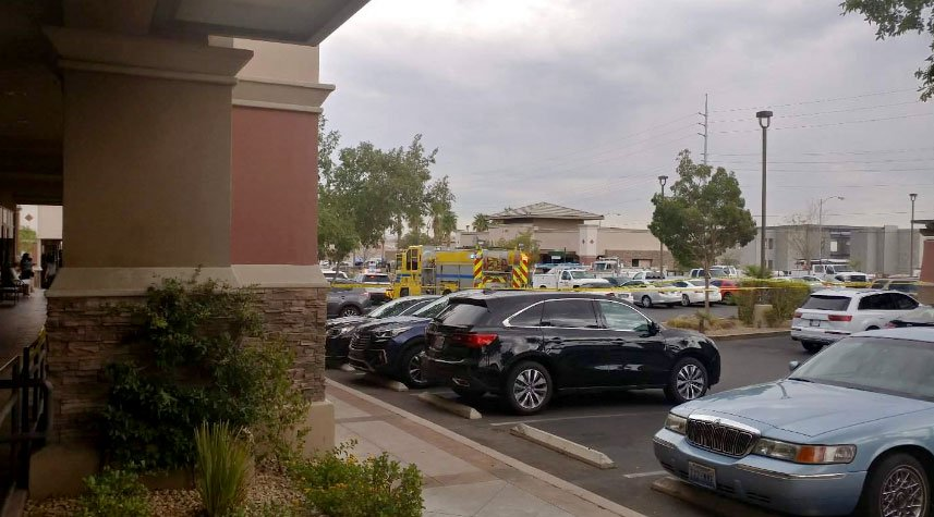 Emergency personnel responded to the scene of a shooting on Sept. 6, 2017. (Bryan Martin/Facebook)