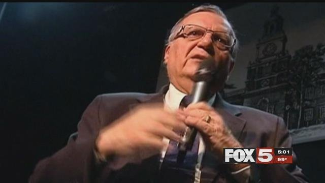 Former Arizona Sheriff Joe Arpaio (FOX5).