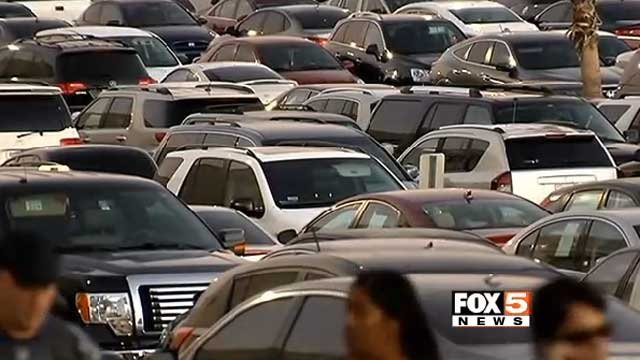 The DMV is warning car buyers of flood-damaged vehicles. (File)