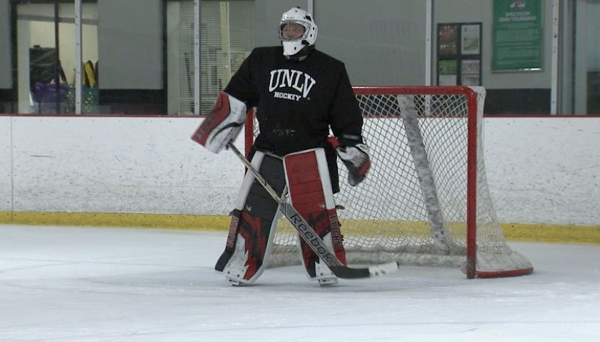 The UNLV hockey club will play its season opener at City National Arena. (FOX5)