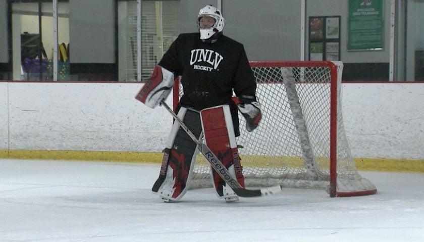 The UNLV hockey club will play its season opener at City National Arena. (FOX5)