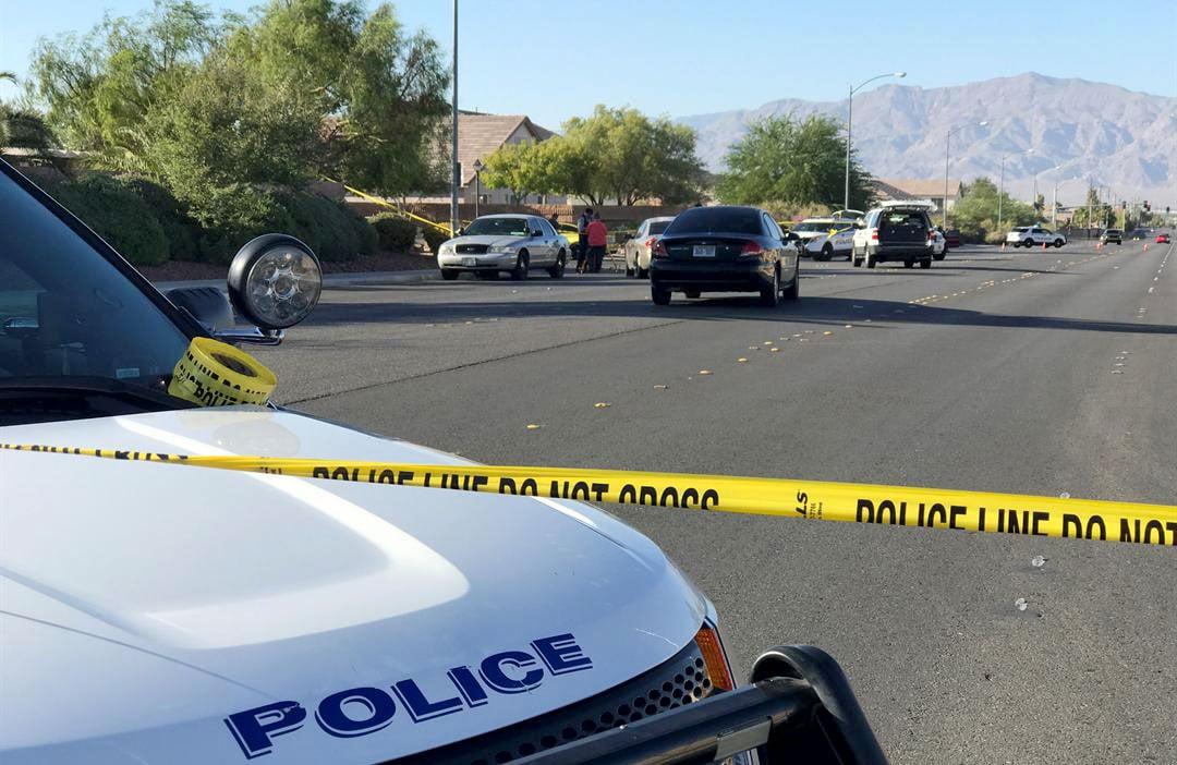 Police tape blocks off the scene of a shooting on Sept. 20, 2017. (Gai Phanalasy/FOX5)