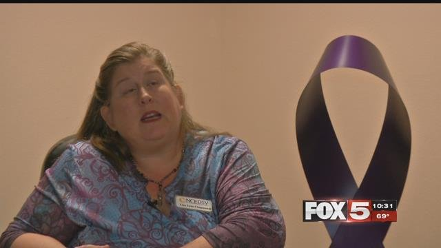 Lisa Lynn Chapman of the Nevada Coalition to End Domestic and Sexual Violence discusses Nevada statistics (FOX5).