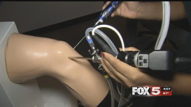 UNLV is using new technology to simulate surgery in its medical school. (FOX5)