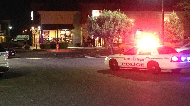 An employee at a Jack in the Box was stabbed during a robbery attempt. (Roger Bryner/FOX5)