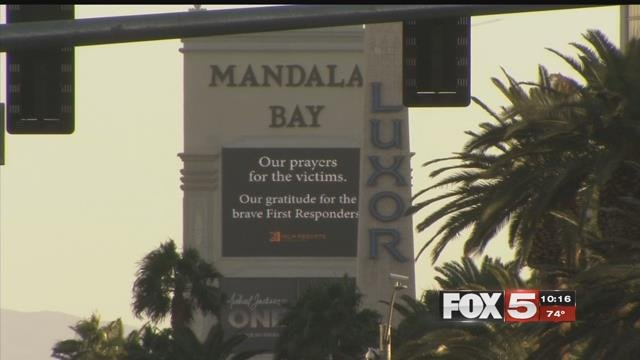 A valley woman shared her experiences looking onto the massacre from inside Mandalay Bay Sunday.