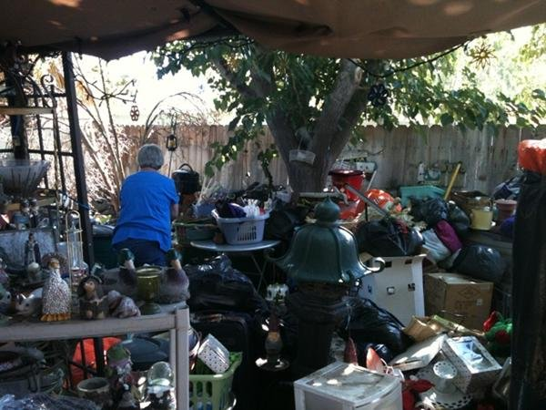 """Exclusive: Inside a """"hoarders"""" house"""