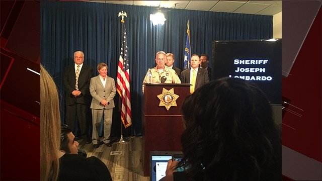 Sheriff Joe Lombardo releases updates in the investigation of the Las Vegas Strip mass shooting. Oct. 4, 2017/ FOX5