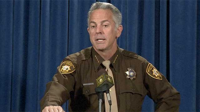 LVMPD Sheriff Joe Lombardo is pictured in this undated photo (FOX5).