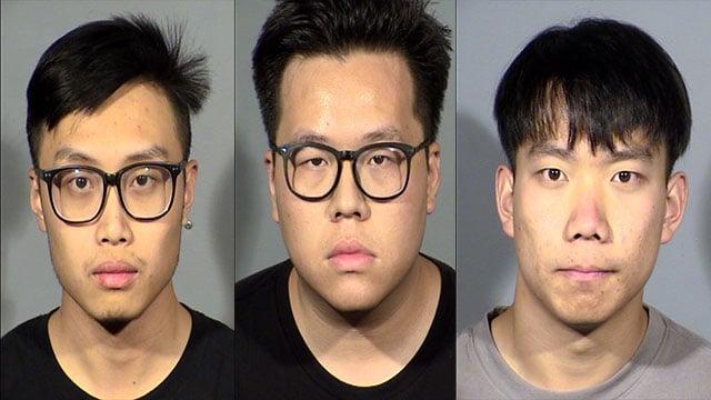 Wang Zizilong, Ying Nan, and Sun Jincleng were booked into CCDC (NHP).