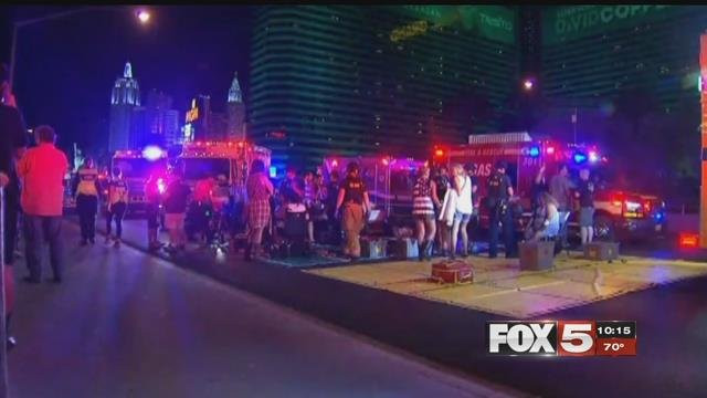 Many in the Las Vegascommunity and around the country have beendealing with trauma from last week's shooting.