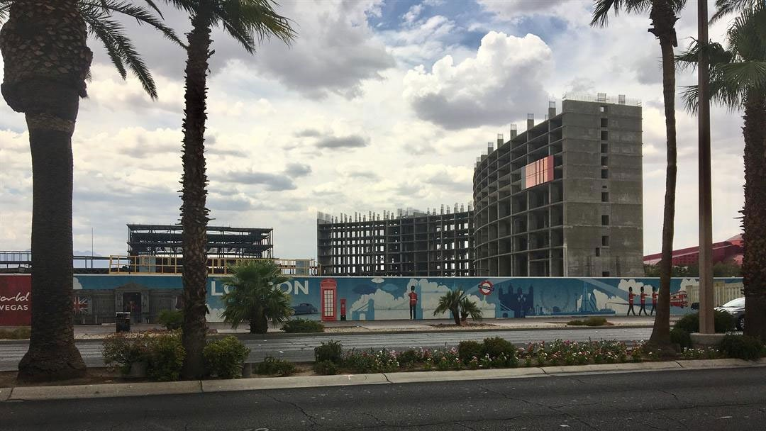"Resorts World has had ""increased activity"" at its construction site on the Las Vegas Strip. (Jason Westerhaus / FOX5)"