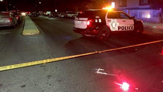 Police investigate a crash involving a Metro vehicle on Oct. 18, 2017. (Luis Marquez/FOX5)