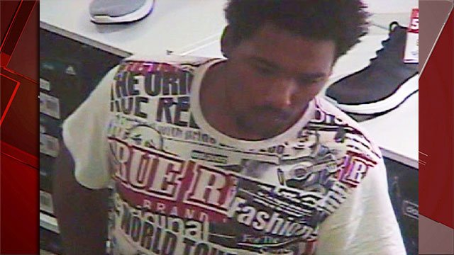 An image of a suspected robber was released by police. (Source: LVMPD)