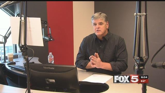 Hannity said it's his special bond with Las Vegas, and the collaboration with a good few friends that's brought him back there after the 1 October tragedy. (FOX5)