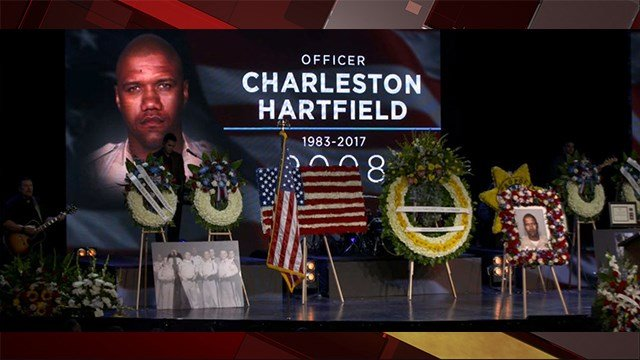 Metro Officer Charleston Hartfield was killed in the 1 October shooting. (FOX5)