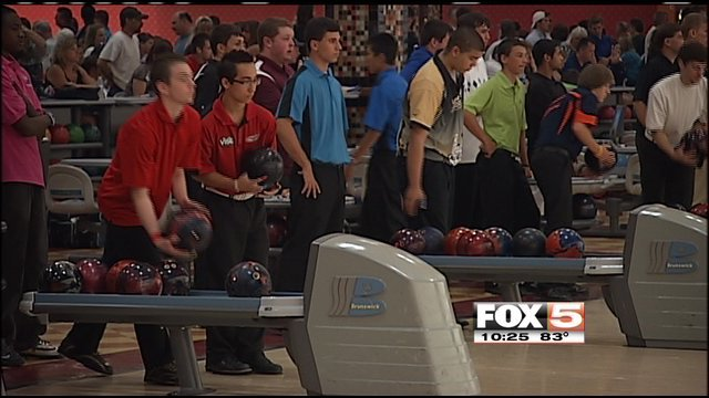 ... scholarship in the 14th annual Teen Masters bowling championship.