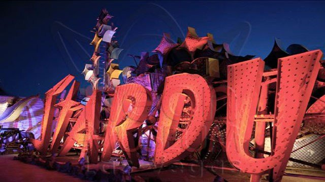 The former neon signage for the iconic Stardust hotel lives on at the Neon Museum (Neon Museum).