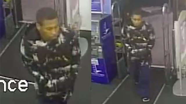 Metro police are searching for a man who robbed a pharmacy Sunday. (LVMPD)