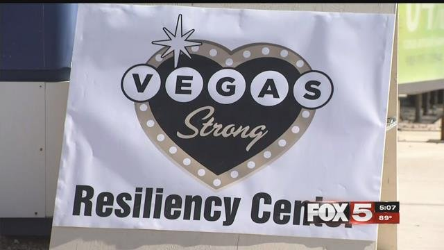 The Vegas Strong Resiliency Center opened on Oct. 23, 2017. (FOX5)