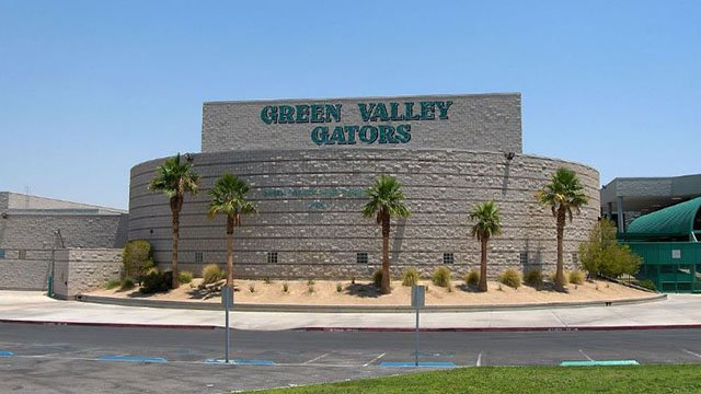 Green Valley High School pictured here in an undated photo. (File/FOX5)