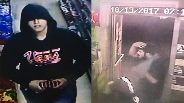 Metro Police said they're searching for two serial robbers. (LVMPD)