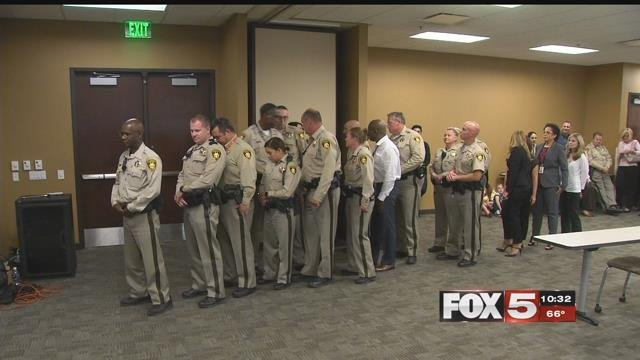 Metro honored more than 100 officers for their courage Wednesday. (FOX5)