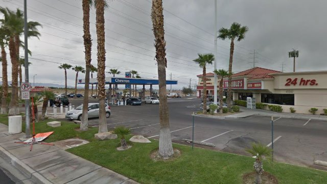 West Las Vegas gas station pictured here in an undated image. (Google Maps)
