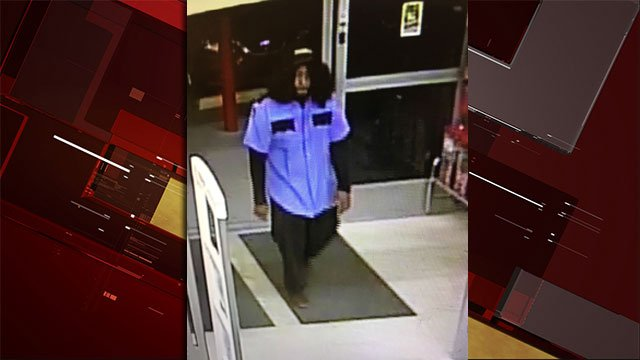 Police are looking for a man suspected of robbing a business in Las Vegas. (Source: LVMPD)