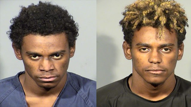 Juhjuan Washington shown in October (left) and November (right) (Source: LVMPD)
