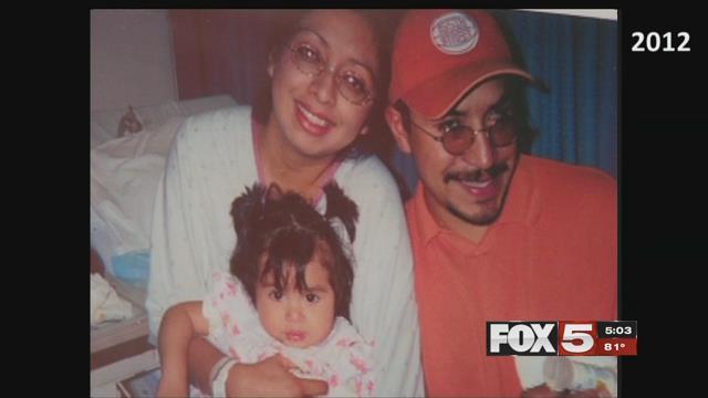 Victims Ignacia, Karla and Arturo Martinez are shown in this undated family photo (FOX5).