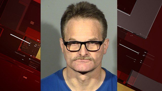 David Updike is charged with torturing an animal (LVMPD).