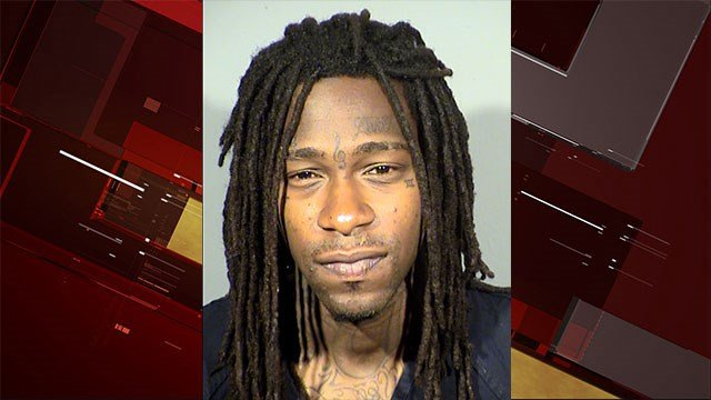 Johnathon Stamps, 26, faces multiple charges stemming from a fatal shooting on Oct. 24 (LVMPD / FOX5).