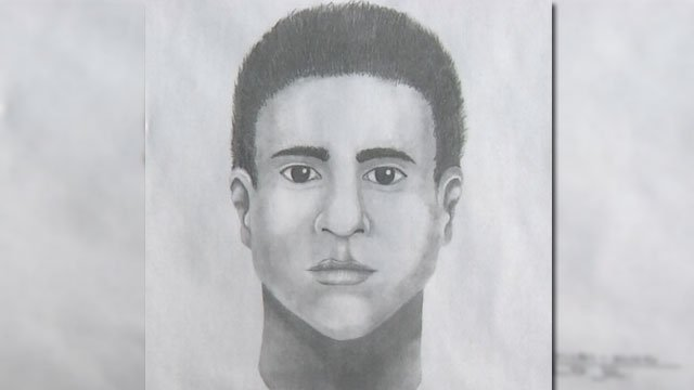 Las Vegas Metro police released a sketch of a suspect in a beating. (Source: LVMPD)
