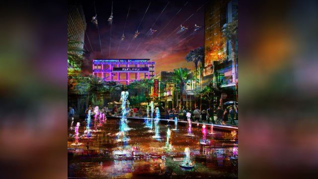 Rendering of the new Fly LINQ attraction. (Courtesy: LINQ Promenade)
